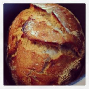 Le pain cocotte magique