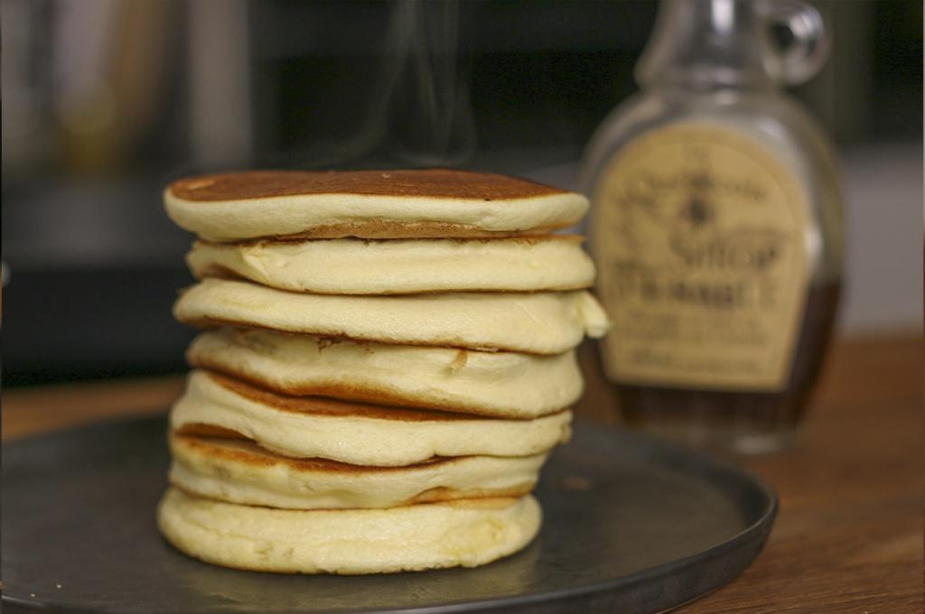 recette pancakes moelleux facile
