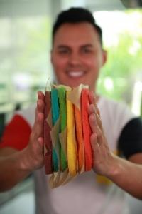 rainbow cake hervé cuisine