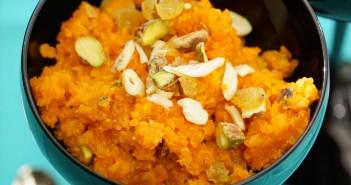 recette halwa carottes indien