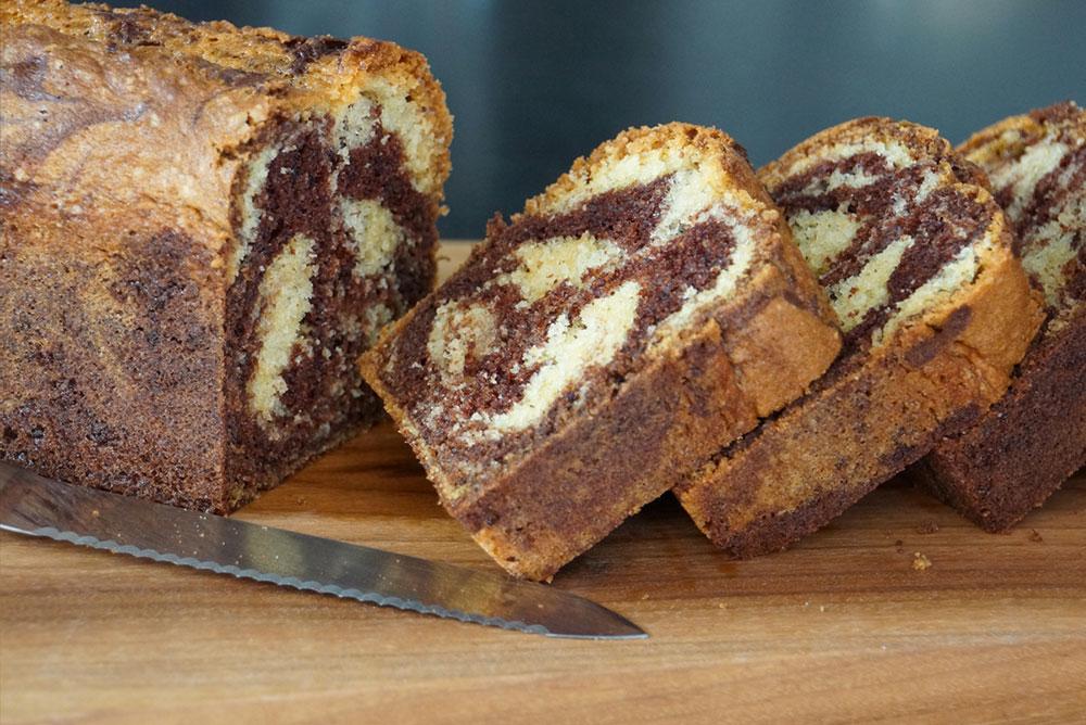 Recette du marbr facile et moelleux par herv cuisine - Recette pancakes herve cuisine ...