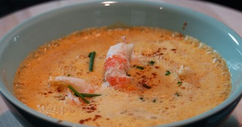 soupe de langoustines