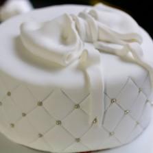 recette wedding cake