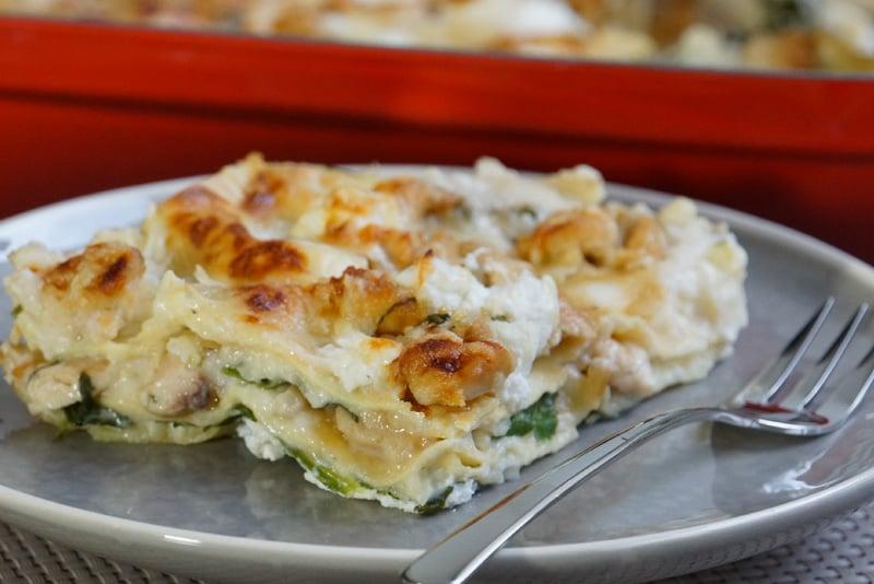 Lasagne Idee Recette.Lasagnes Moelleuses Poulet Ricotta Et Pesto