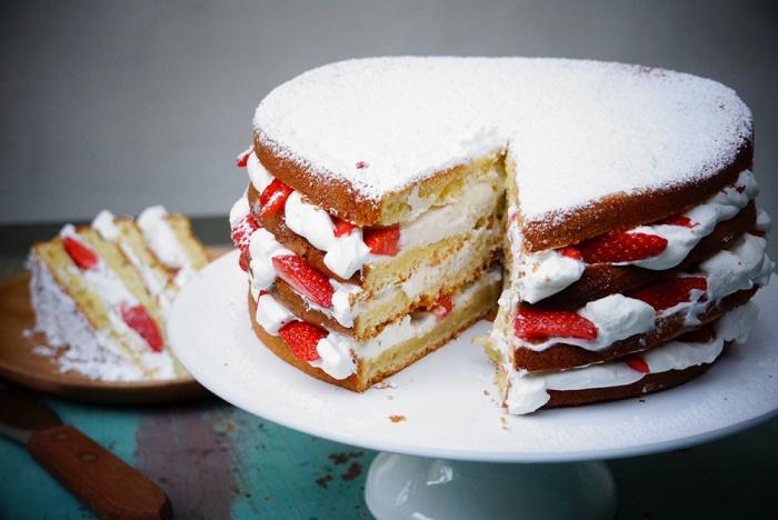 gâteau au yaourt layer cake