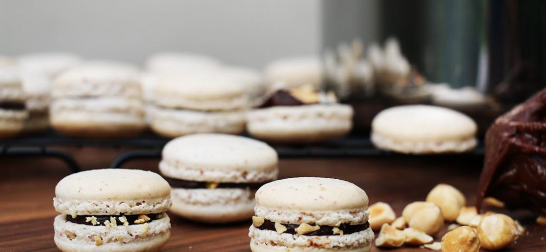macarons nutella