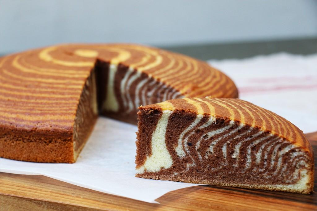 Meilleure Recette De Cake Zebre Facile Et Moelleux