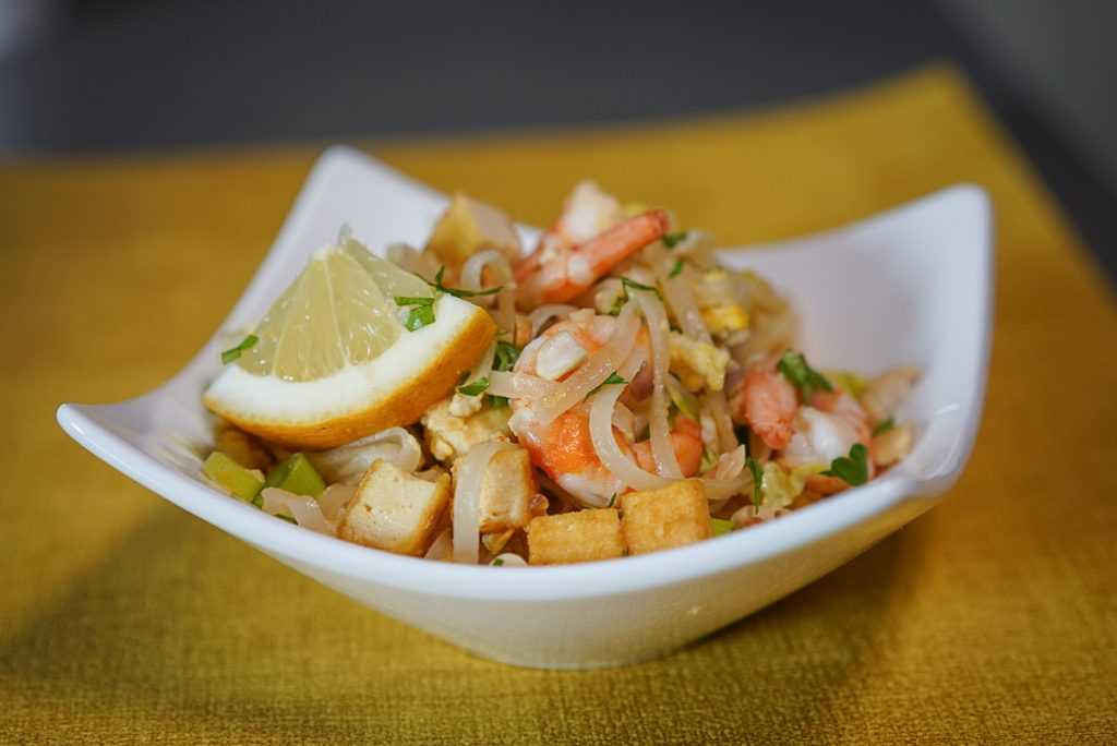 recette pad thai crevettes
