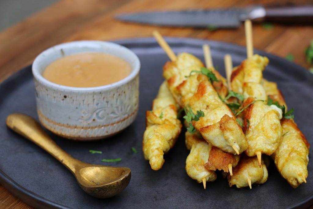 Recette du poulet satay
