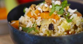 recette one pot rice vegan