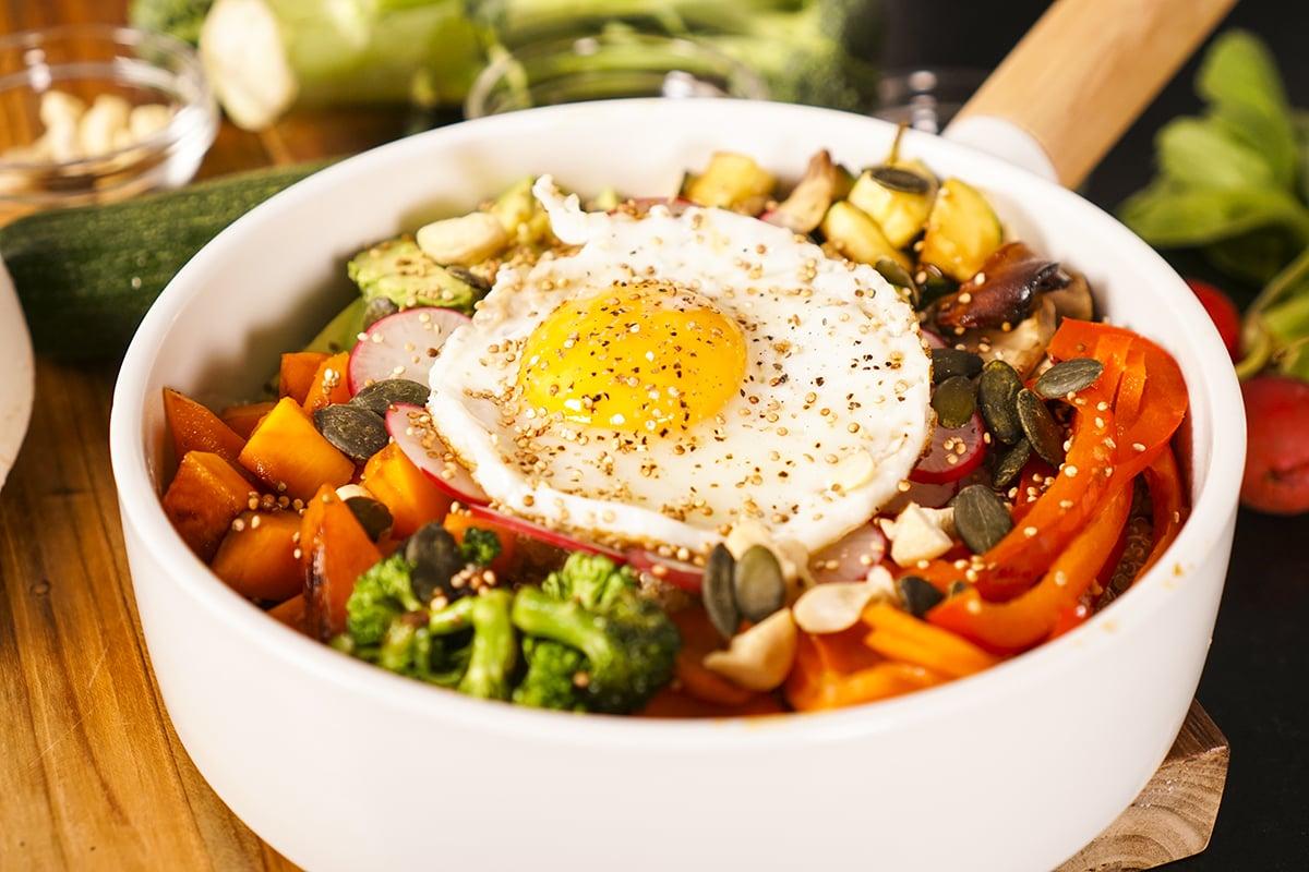 Recette du Bol de Quinoa plein d'énergie