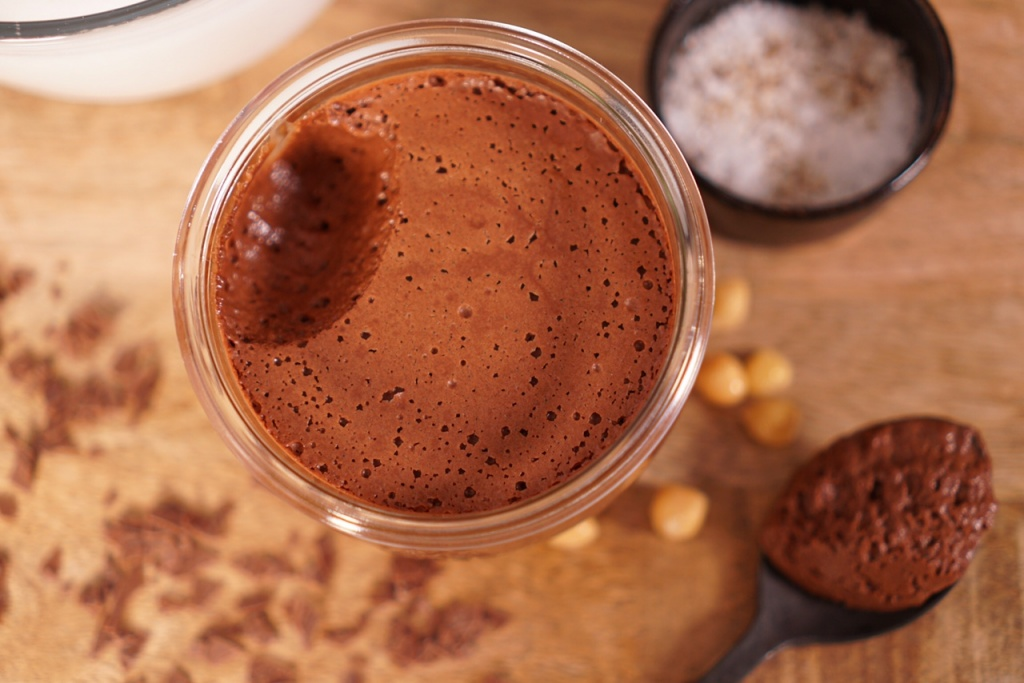 recette mousse chocolat vegan