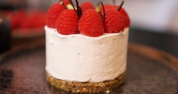 Recette cheesecake framboises