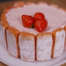 recette charlotte fraises