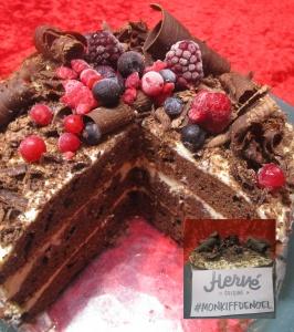 Layer cake de Noël aux épices et chocolat (Sophie M)