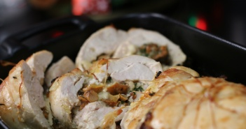 recette poulet champignon mozzarella