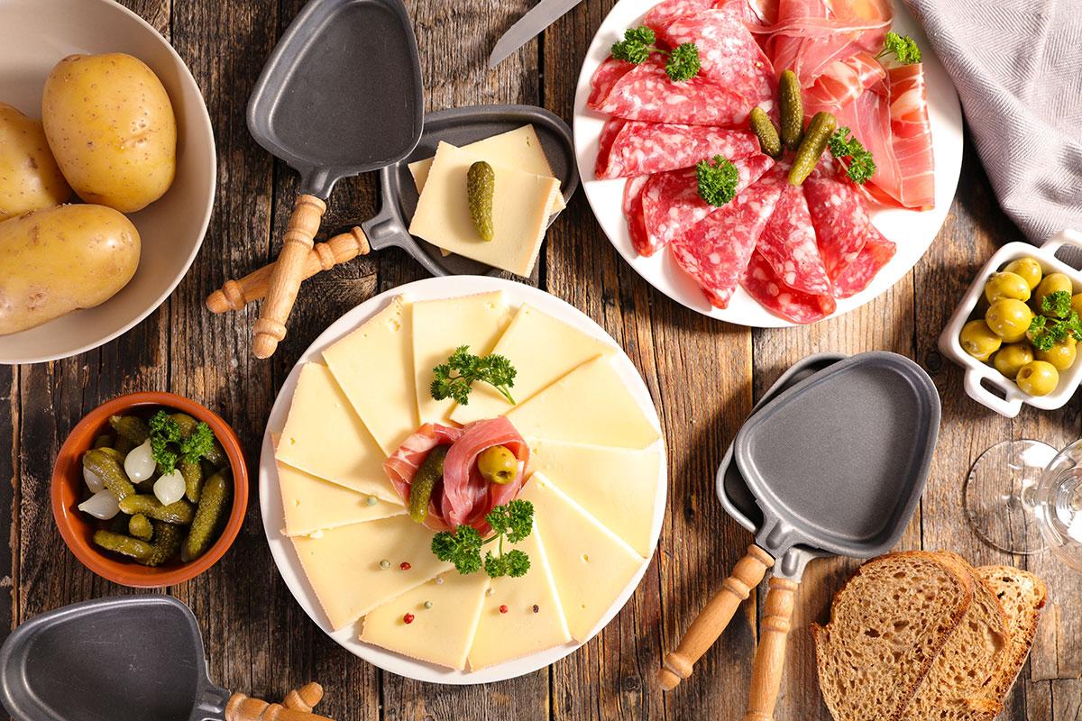 Idées Repas De Fête Entre Amis recette de la raclette originale