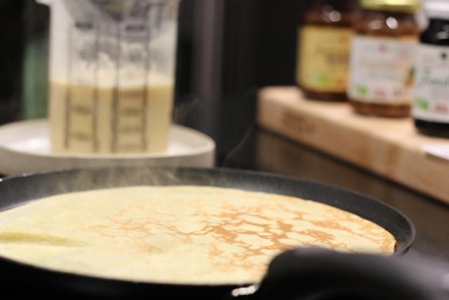 recette crepes sans lactose