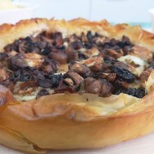 tarte-champignon-mozzarella