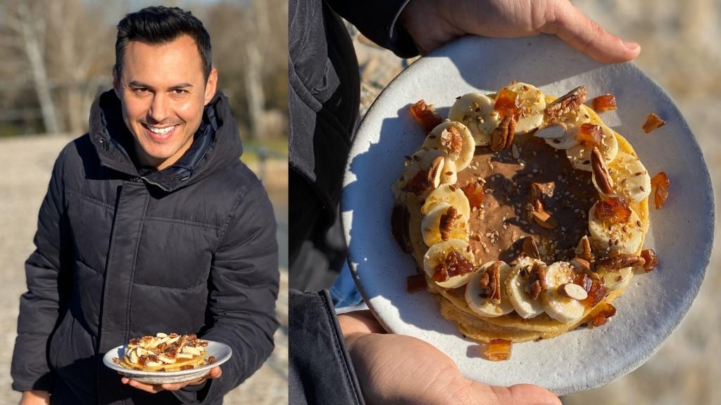 Recette Pancakes Tres Moelleux Facile Et Rapide Hervecuisine Com