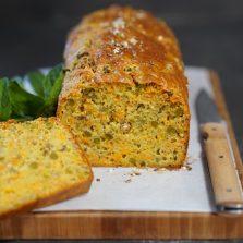 recette cake petits pois carottes