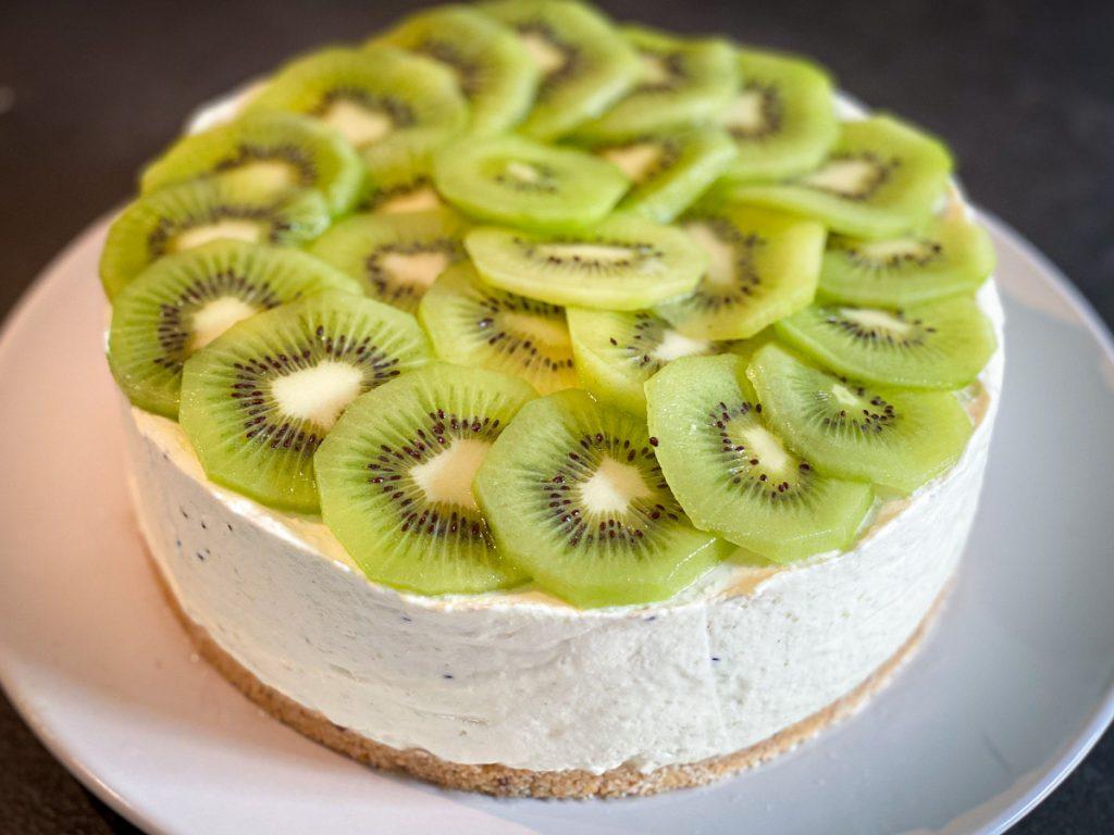 recette cheesecake chocolat blanc kiwi sans cuisson