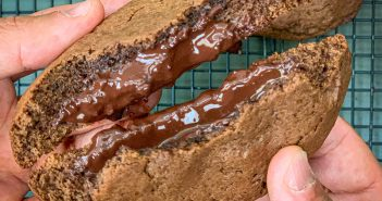 recette cookies chocolat coeur coulant
