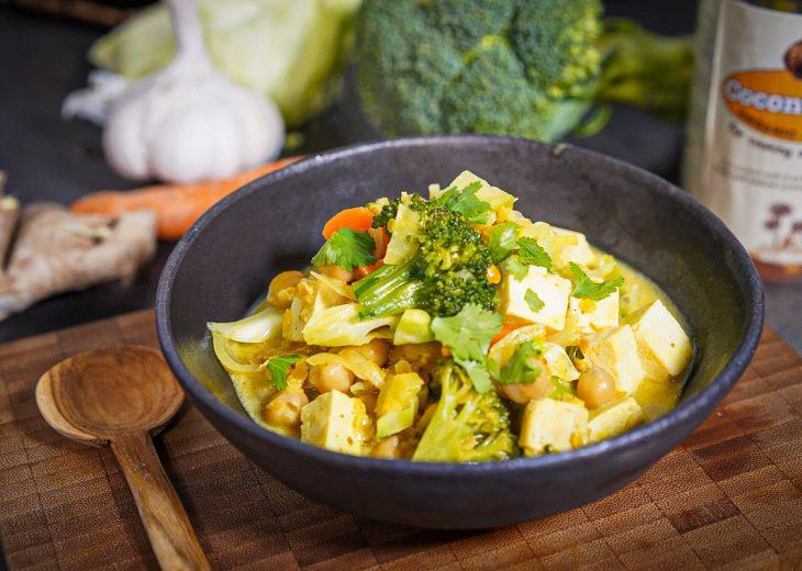 recette curry légumes facile