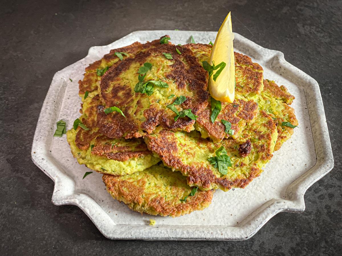 Beignet De Brocolis Au Four recette galettes brocolis, pois chiches et coco faciles