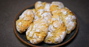 recette ghoribas citron amande