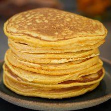 Recette pancakes patate douce