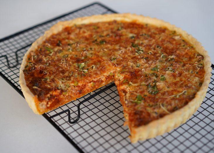 recette tarte thon ratatouille