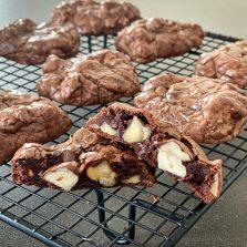 recette cookie brownies