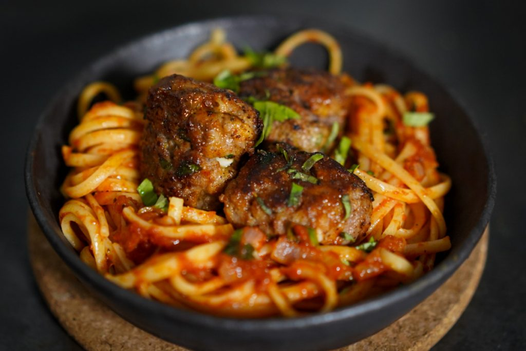 recette spaghetti meatballs