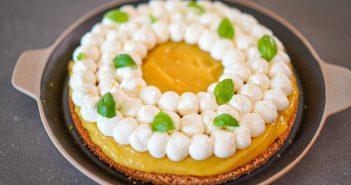 recette tarte au citron sans cuisson