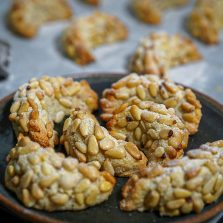 recette croissants amande pignons