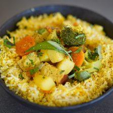recette curry vegetarien