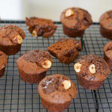 recette muffins chocolat noisette