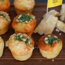recette muffins sales grana padano