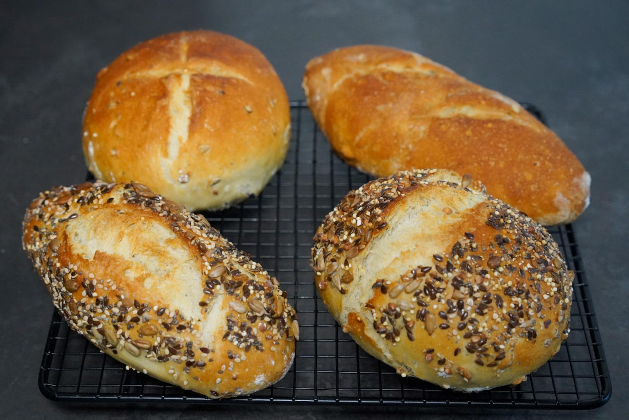 Recette pain maison sans robot facile