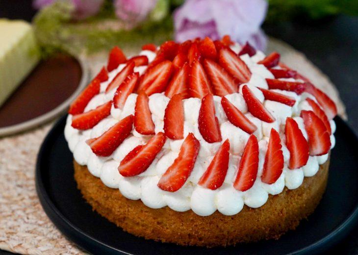 recette sable breton fraises