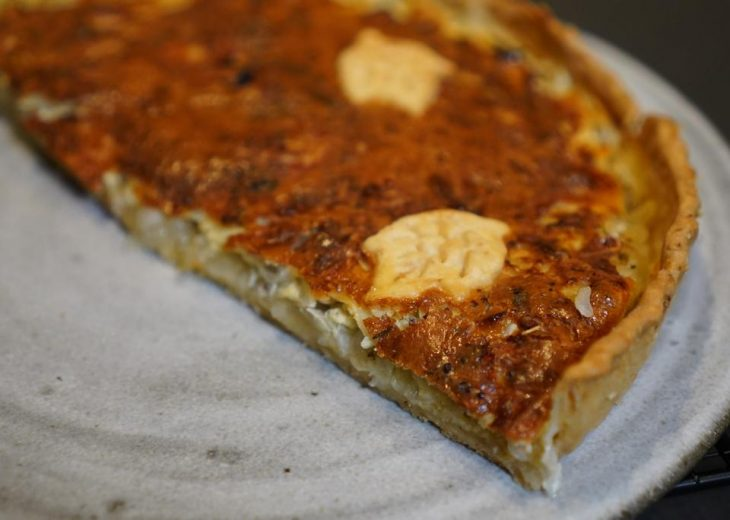 tarte à l'oignon