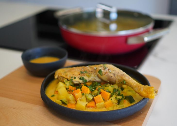 Colombo de poulet Hervé Cuisine
