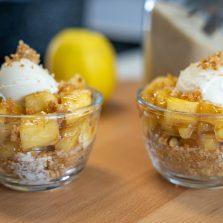 Dessert façon tarte aux pommes 5 ingrédients