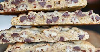 Maxi cookies chocolat noix