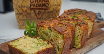 Recette Cake apéritif au Grana Padano et petits légumes de printemps