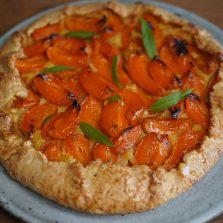 Recette tarte rustique aux abricots