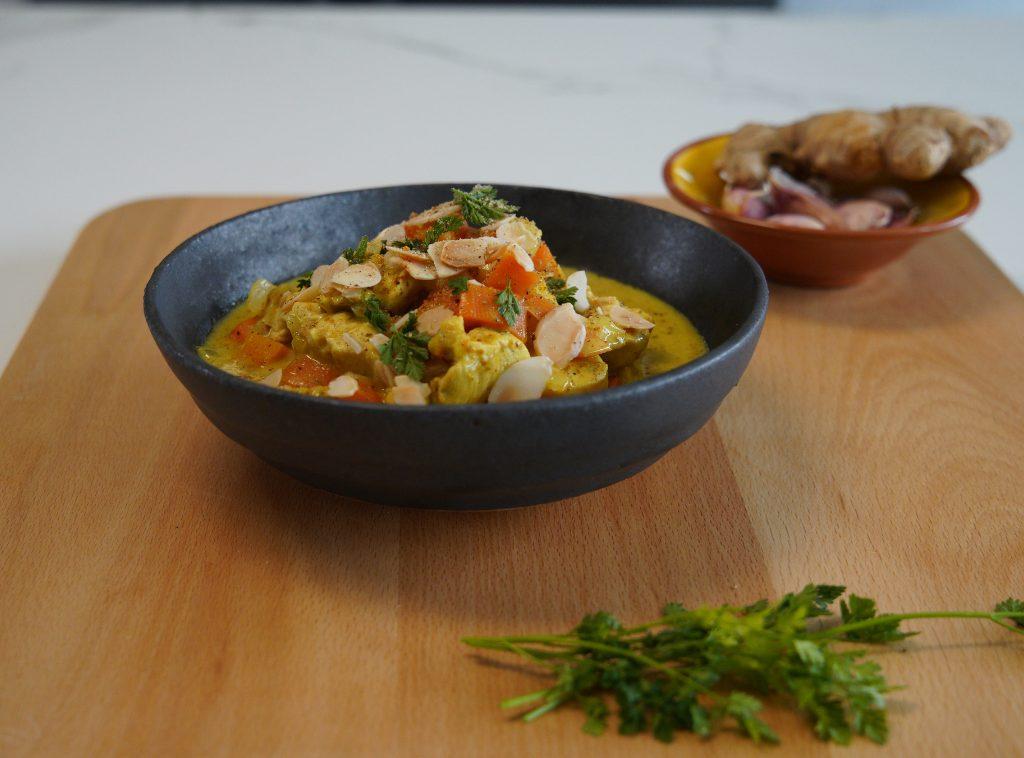 Recette du curry 5 ingrédients