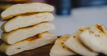 Recette pain pita sans four 5 ingrédients