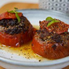 Tomates farcies de l'été
